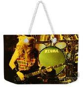 Megadeath 93-david-0365 Weekender Tote Bag