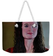 Megan At Eighteen Weekender Tote Bag