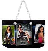Megan Fox Weekender Tote Bag