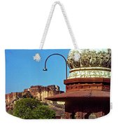Mehrangarh Fort - Approach With Caution Weekender Tote Bag