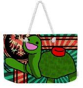 Meine Turtle Weekender Tote Bag