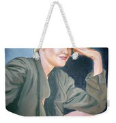 Melanie Griffith Weekender Tote Bag