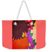 Melanin And Flowers Weekender Tote Bag