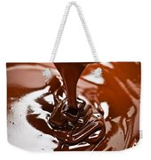 Melted Chocolate And Spoon Weekender Tote Bag