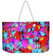 Melting Flowers Abstract  Weekender Tote Bag