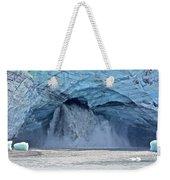 Melting Glacier Weekender Tote Bag