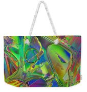 Melting Ice Weekender Tote Bag