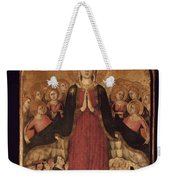 Memmi: Madonna In Heaven Weekender Tote Bag