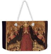 Memmi: Madonna In Heaven Weekender Tote Bag