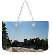 Memorial Avenue Bridge Roanoke Virginia Weekender Tote Bag by Teresa Mucha