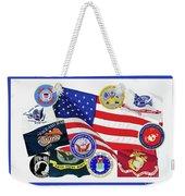Memorial Day Collage Weekender Tote Bag
