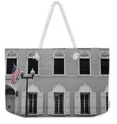 Memorial Day Flag Roanoke Virginia Weekender Tote Bag