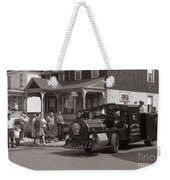Memorial Day Parade  Ashley Pa  Corner Of W Hartford And Brown  Circa 1965 Weekender Tote Bag