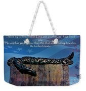 Memorial Day Remember Weekender Tote Bag