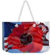 Memorial Day - Remembrance Day - Armistice Day Weekender Tote Bag