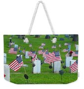 Memorial Day Salute Weekender Tote Bag
