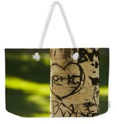 Memories In The Aspen Tree Weekender Tote Bag