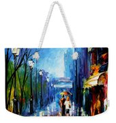Memories Of Paris Weekender Tote Bag