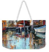Memories Of Venice Weekender Tote Bag