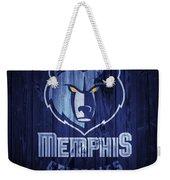 Memphis Grizzlies Barn Door Weekender Tote Bag