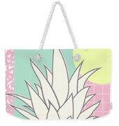 Memphis Pineapple Top Weekender Tote Bag