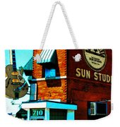 Memphis Sun Studio Birthplace Of Rock And Roll 20160215sketch Weekender Tote Bag