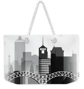 Memphis, Tennessee Skyline  Weekender Tote Bag