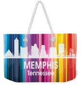 Memphis Tn 2 Squared Weekender Tote Bag
