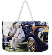 Men And Their Toys Weekender Tote Bag