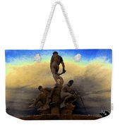 Men Of Greece Weekender Tote Bag