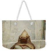 Mendicant In Meditation Weekender Tote Bag