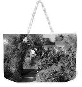 Mendocino Gate Bw Weekender Tote Bag