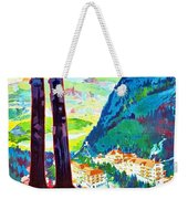 Mendola, Italy, Landscape Weekender Tote Bag