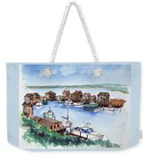 Menemsha Safe Haven Weekender Tote Bag
