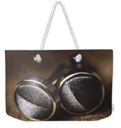 Mens Formalwear Cufflinks Weekender Tote Bag