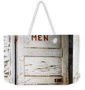 Men's Room Weekender Tote Bag