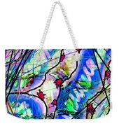 mentally ill with Red things Weekender Tote Bag
