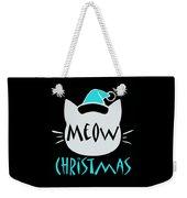 Meow Christmas Weekender Tote Bag