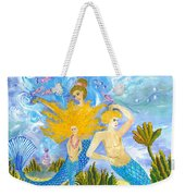 Mer Mum And Comb Weekender Tote Bag