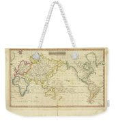 Mercator's Chart Weekender Tote Bag