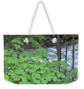 Merced In Yosemite Weekender Tote Bag
