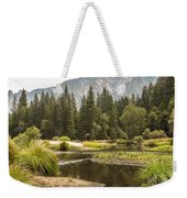 Merced River Yosemite Valley Yosemite National Park Weekender Tote Bag