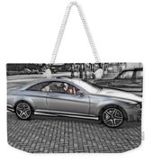 Mercedes Amg Black And White Weekender Tote Bag