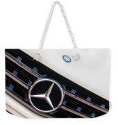 Mercedes-benz Emblem - Grille Logo -0030c Weekender Tote Bag