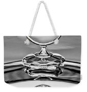 Mercedes Benz Hood Ornament 2 Weekender Tote Bag by Jill Reger