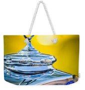 Mercedes-benz Hood Ornament - Emblem -0961c Weekender Tote Bag