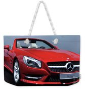 Mercedes Benz Sl Weekender Tote Bag