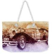 Mercedes-benz Ssk 2 - 1928 - Automotive Art - Car Posters Weekender Tote Bag