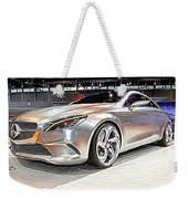 Mercedes Benz Style Coupe Concept Number 2 Weekender Tote Bag