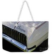 Mercury Cougar Xr7 Emblem Weekender Tote Bag